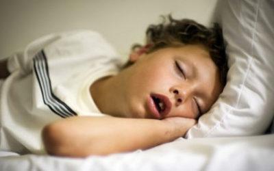¿Tienes un niño que ronca?